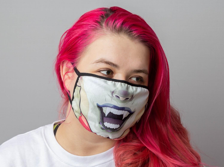 Прикольные картинки маска на лице